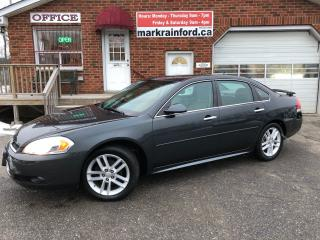 Used 2013 Chevrolet Impala LTZ Heated Leather 3.6 Litre V6 Sunroof for sale in Bowmanville, ON