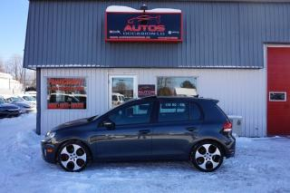 Used 2011 Volkswagen Golf GTI Gti 6 Vit for sale in Lévis, QC