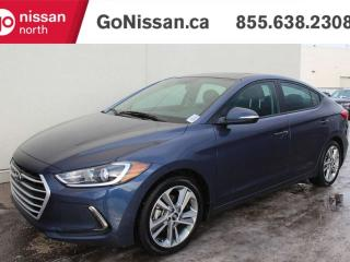 Used 2017 Hyundai Elantra GLS SUNROOF HEATED STEERING/SEATS BACK UP CAMERA ANDROID AUTO & MORE for sale in Edmonton, AB