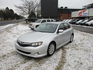 Used 2010 Subaru Impreza 2.5i w/Sport Pkg~SUNROOF~HEATED SEATS~CERTIFIED for sale in Toronto, ON