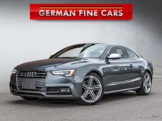 Used 2013 Audi S5 PREMIUM 3.0T**YEAR END SALE!!** for sale in Bolton, ON