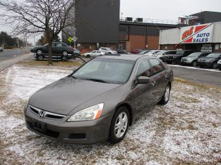 Used 2007 Honda Accord SE~SUNROOF~ALLOY WHEELS~CERTIFIED for sale in Toronto, ON