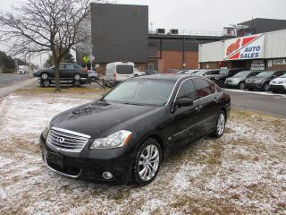 Used 2008 Infiniti M45 Luxury~NAV.~DVD~LEATHER~CERTIFIED for sale in Toronto, ON