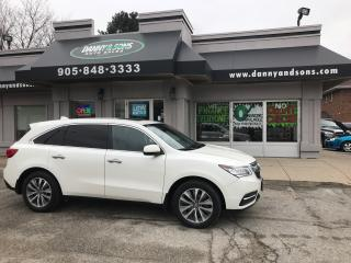 Used 2016 Acura MDX Tech pkg for sale in Mississauga, ON