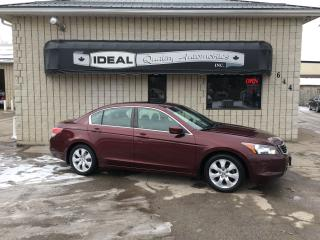 Used 2008 Honda Accord EX-L for sale in Mount Brydges, ON