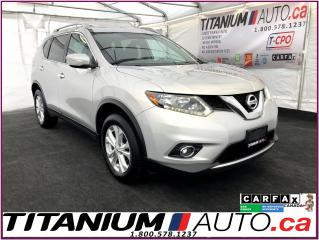 Used 2015 Nissan Rogue SV-AWD-Camera-Pano Roof-Heated Power Seats-R.S.-XM for sale in London, ON