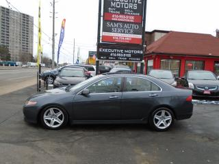 Used 2008 Acura TSX w/Nav Pkg/ ALLOYS/ BLUETOOTH / SUNROOF / LEATHER / for sale in Scarborough, ON