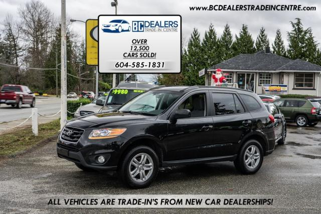 2010 Hyundai Santa Fe GL AWD, V6, Local Car, Bluetooth, Clean!