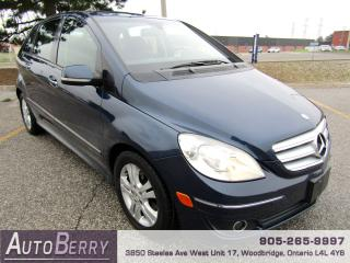 Used 2007 Mercedes-Benz B-Class B200 - Turbo - 2.0L for sale in Woodbridge, ON