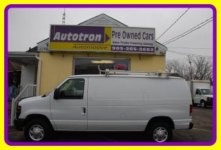 Used 2013 Ford E250 3/4 Ton Econoline, A/C, Roof Rack for sale in Woodbridge, ON