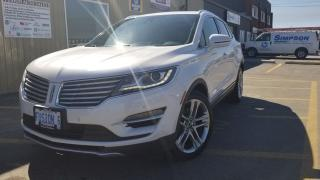 Used 2015 Lincoln MKC 2.3L-PREMIUM-NAV-PAN ROOF-FULL HEATED LEATHER- for sale in Tilbury, ON