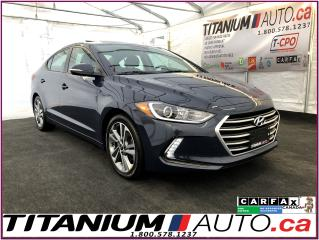 Used 2017 Hyundai Elantra GLS-Camera-Sunroof-Blind Spot-Apple Play-Heated Se for sale in London, ON