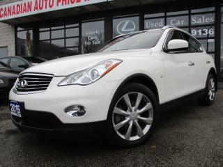 Used 2015 Infiniti QX50 Journey-4WD-LTHER-SUNROOF-CAMERA-HEATED for sale in Scarborough, ON