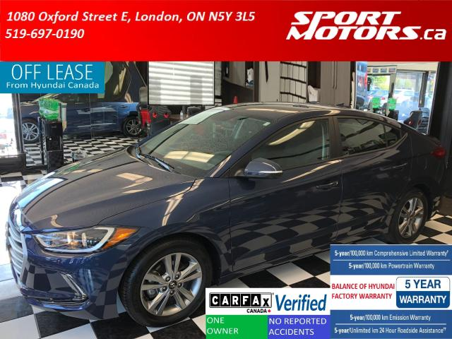 2017 Hyundai Elantra GL+Camera+Blind Spot & Cross Traffic+Apple Play+AC