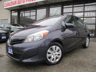 Used 2014 Toyota Yaris LE-AUTO-POWER-GROUP-BLUETOOTH-CRUISE CONTROL for sale in Scarborough, ON