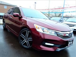 Used 2016 Honda Accord SPORT | P.SUNROOF | BACK UP.BLIND SPOT CAMERA for sale in Kitchener, ON