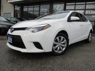 Used 2014 Toyota Corolla LE-ECO-BACK UP CAMERA-BLUETOOTH-HEATED SEAT for sale in Scarborough, ON