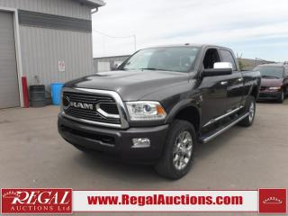Used 2016 RAM 2500 LARAMIE LIMITED CREW CAB SWB 4WD 6.7L for sale in Calgary, AB