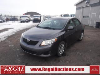 Used 2010 Toyota Corolla CE 4D Sedan 1.8L for sale in Calgary, AB