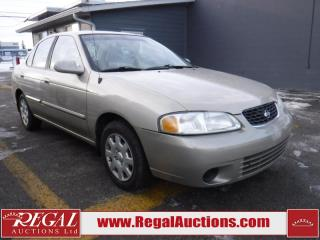 Used 2001 Nissan Sentra 4D Sedan for sale in Calgary, AB