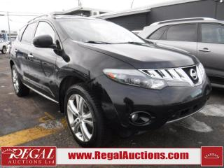 Used 2009 Nissan Murano LE 4D Utility AWD for sale in Calgary, AB