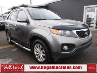 Used 2011 Kia Sorento EX 4D Utility AWD for sale in Calgary, AB