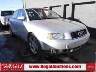 Used 2004 Audi A4 4D Sedan FWD for sale in Calgary, AB