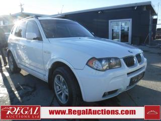 Used 2006 BMW X3 4D Utility 4WD for sale in Calgary, AB