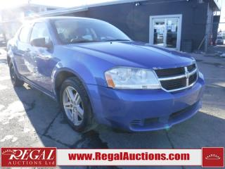 Used 2008 Dodge Avenger 4D Sedan for sale in Calgary, AB