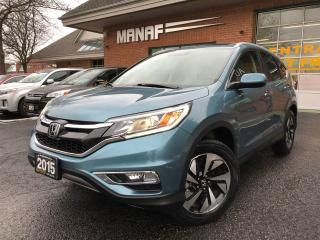 Used 2015 Honda CR-V AWD Touring Navi Sunroof Low KM Leather Certi* for sale in Concord, ON
