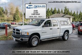 Used 2005 Dodge Ram 1500 Quad Cab ST 4x4 V8, No Accidents, Clean, 188k for sale in Surrey, BC