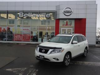 Used 2016 Nissan Pathfinder Platinum 4WD 1 OWNER LOCAL TRADE for sale in Belleville, ON