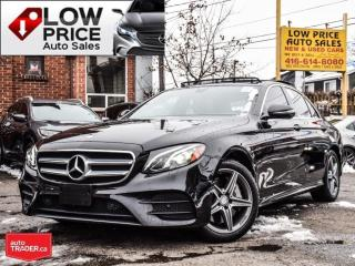 Used 2017 Mercedes-Benz E-Class AWD*Leather*Xenon*Panoramic*Burmester*FullOpti* for sale in Toronto, ON