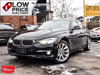 Used 2017 BMW 330i Navi*Camera*Xenon*Leather*Automatic*Warranty* for sale in Toronto, ON