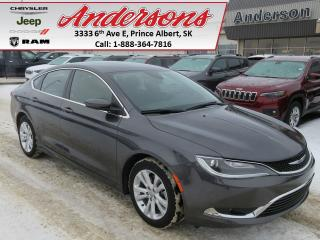 Used 2016 Chrysler 200 Limited for sale in Prince Albert, SK