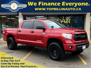 Used 2017 Toyota Tundra TRD 4X4 OFF Road, Navi, Sunroof, CrewMax for sale in Vaughan, ON