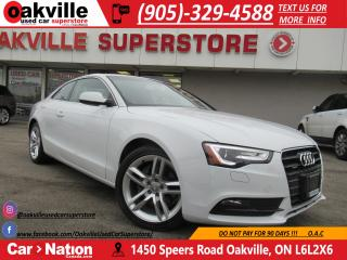 Used 2013 Audi A5 2.0T | PREMIUM | NAVIGATION | LOADED for sale in Oakville, ON