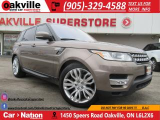 Used 2016 Land Rover Range Rover Sport DIESEL | TD6 | HSE | PANO | NAVI for sale in Oakville, ON