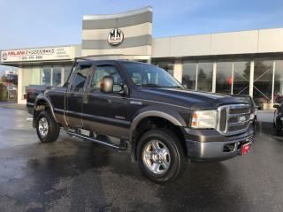 Used 2005 Ford F-350 Lariat FX4 DIESEL 4X4 LEATHER DUAL EXHAUST for sale in Langley, BC