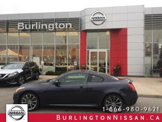 Used 2008 Infiniti G37 Sport, RWD, NAVIGATION, 2 SETS OF TIRES ! for sale in Burlington, ON