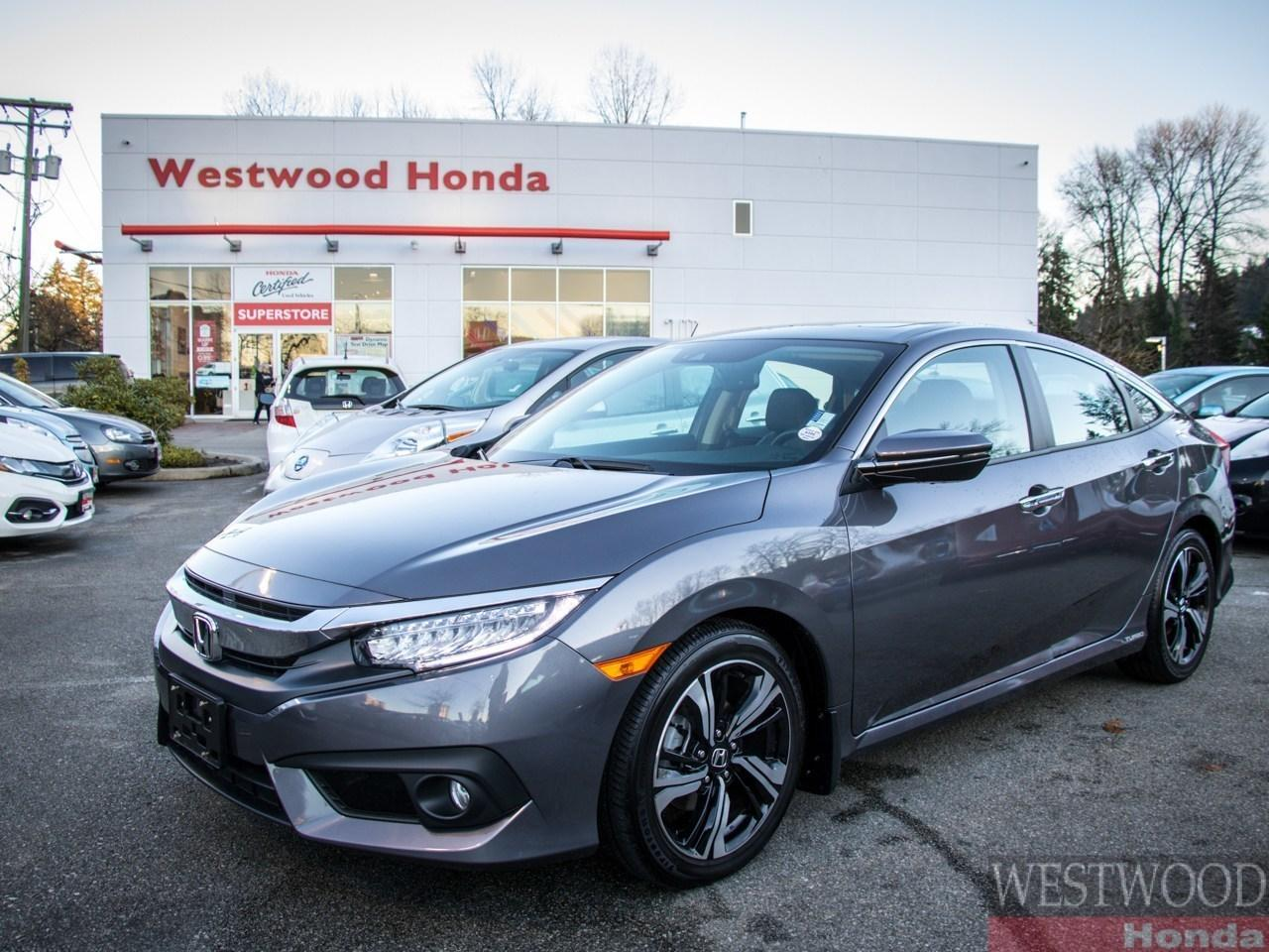 Used 2017 Honda Civic Touring Factory Warranty Until 2024 For Sale