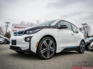 Used 2015 BMW i3 Base w/Range Extender, Tech+Drive assist for sale in Port Moody, BC