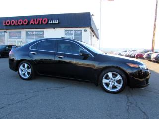 Used 2009 Acura TSX Premium PKG 6-Speed Manual Leather Certified 2YR Warranty for sale in Milton, ON