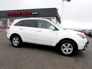 Used 2013 Acura MDX Advance Package SH-AWD DVD Navigation Camera Certified 2YR W for sale in Milton, ON