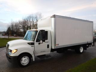 Used 2014 International TerraStar 18 Foot Cube Van Diesel with Power Lift Tailgate for sale in Burnaby, BC