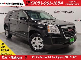 Used 2016 GMC Terrain SLE-1| WE WANT YOUR TRADE| OPEN SUNDAYS| for sale in Burlington, ON