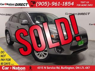Used 2013 Mitsubishi RVR SE  LOCAL TRADE  ONE PRICE INTEGRITY  for sale in Burlington, ON