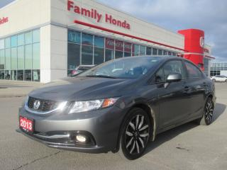 Used 2013 Honda Civic Touring, FULLY LOADED!! for sale in Brampton, ON