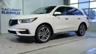 Used 2017 Acura MDX TECHNOLOGIE ** GPS DVD ** for sale in Blainville, QC