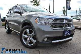 Used 2012 Dodge Durango Citadel for sale in Guelph, ON